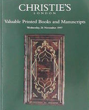 Christies Valuable Printed Books and Manuscripts 26 November 1997.jpg