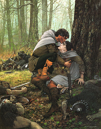 File:Ted Nasmith - The Last Words of Boromir.jpg