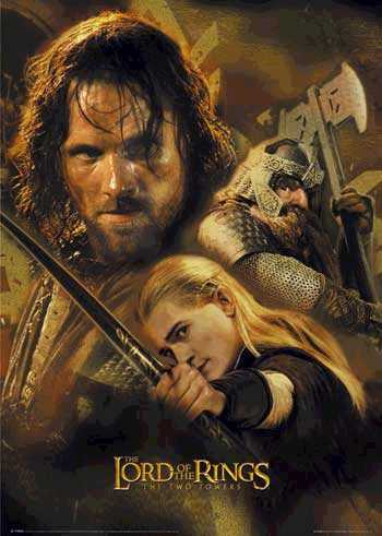 File:The Lord of the Rings - The Two Towers - The Three Hunters poster.jpg