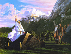 Ted Nasmith - The Oathtaking of Cirion and Eorl.jpg