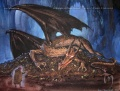 Ted Nasmith - A Conversation with Smaug (sketch).jpg
