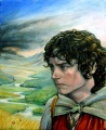 Lorraine Brevig - Frodo on the way to Mordor.jpg