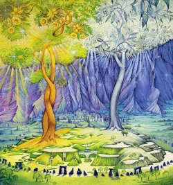 Roger Garland - Two Trees of Valinor.jpg