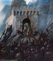 John Howe - The Charge of the Rohirrim at Helm's Deep.jpg