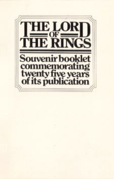 The Lord of the Rings Souvenir booklet commemorating twenty five years of its publication.jpg