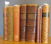 Eight books from Tolkien's library.jpg