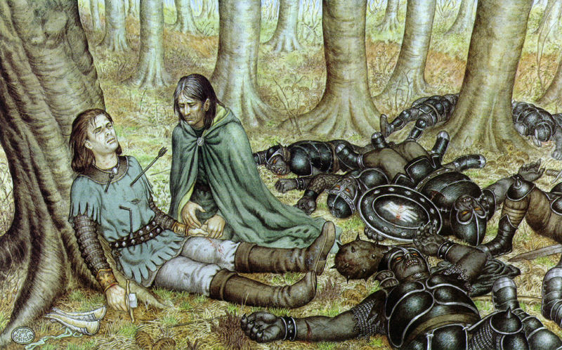 File:Inger Edelfeldt - Death of Boromir.jpg