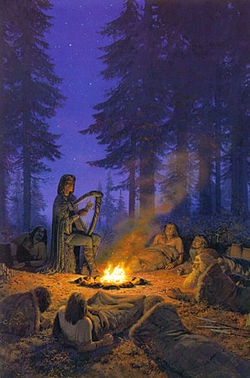 Ted Nasmith - Felagund Among Bëor's Men.jpg
