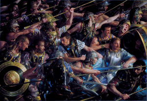 Donato Giancola - Faramir at Osgiliath.jpg