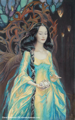 Elena Kukanova - The Light of Valinor.jpg