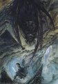 John Howe - Shelob About to Leap on Frodo.jpg