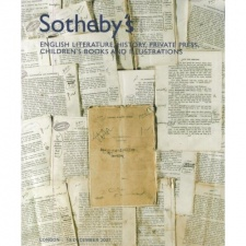 Sotheby's English Literature, History, Private Press, Children's Books and Illustrations 13 December 2007.jpg