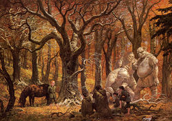 Ted Nasmith - A Song in the Trollshaws.jpg