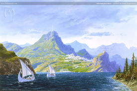 Ted Nasmith - White Ships from Valinor.jpg
