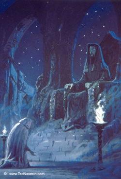 Ted Nasmith - Lúthien's Lament Before Mandos.jpg