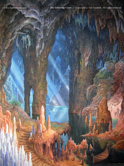 Ted Nasmith - The Glittering Caves.jpg