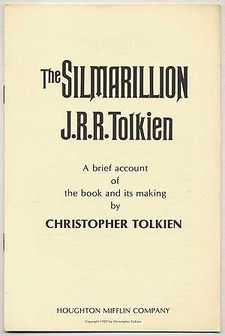 The Silmarillion by J.R.R. Tolkien A Brief Account of the Book and its Making.jpg